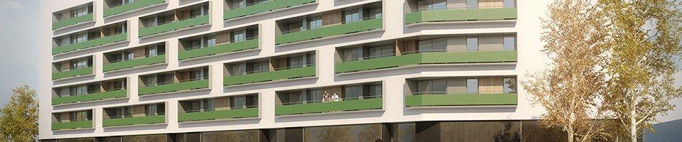 Infograf a de arquitectura concurso adjudicado terrassa barcelona - Arquitectos terrassa ...