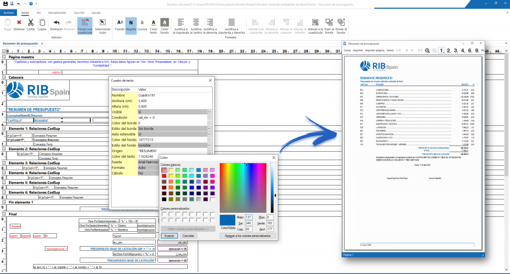 Webinar Presto 14mayo: Personalización de exportación con Cost-It