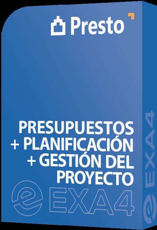 Presupuestos + Planificación + Gestión del Proyecto